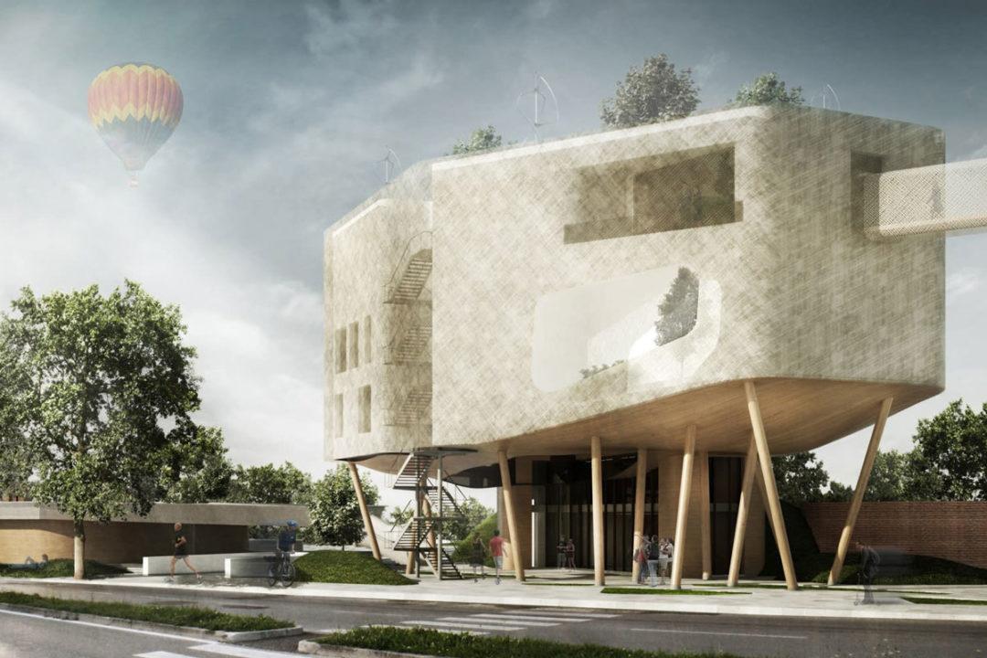 Concorso di idee per un edificio polifunzionale